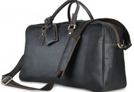 Baigio-Men-s-Travel-font-b-Bags-b-font-Leather-Overnight-Travel-Duffle-font-b-Bags